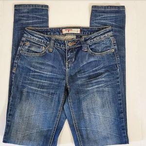 T Five Womens Blue Denim Jean's Size:7